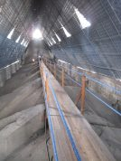 "Challenge: Heights! Discovery: I walked across this wooden path to the ladder at the far end of the peak of the Basilica and climbed up to the outdoor walkway. You have no idea how high up it was! The climb down the ladder took my breath away, but I knew that it was worth the view and my ability to say ""I did it"" at the end!"