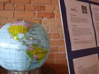 Globe and speaker bios...