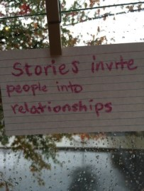 Yes, they do. We did a lot of storytelling.