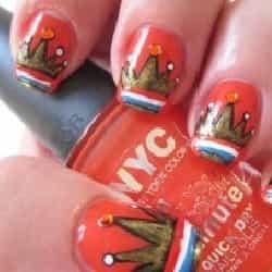 koningsdag nagels3