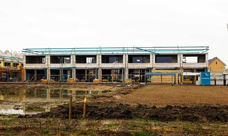 Bouw update nieuwbouw woning