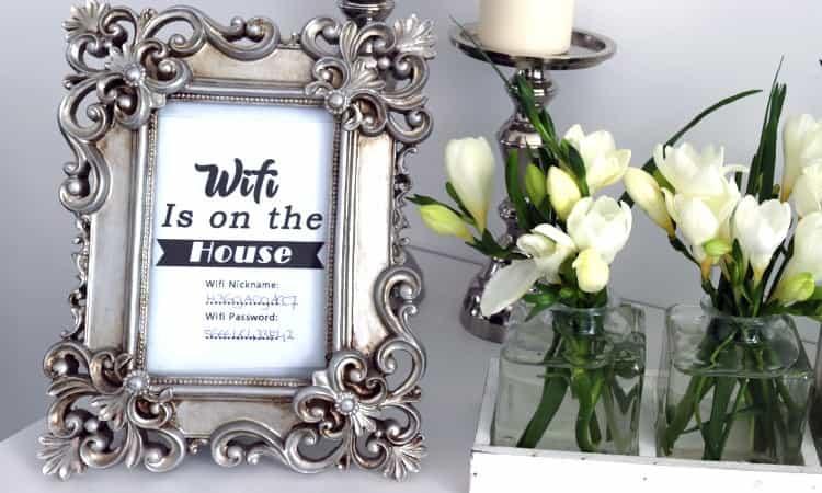 DIY WIFI + GRATIS PRINTABLES