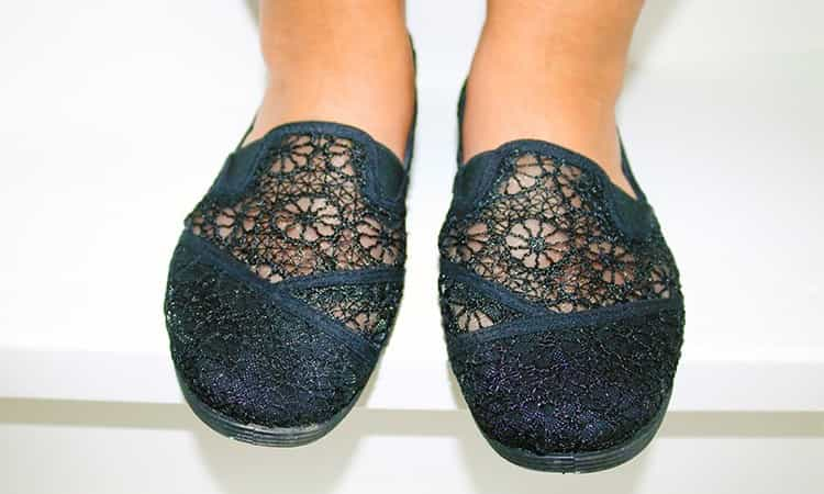Primark Lace instappers