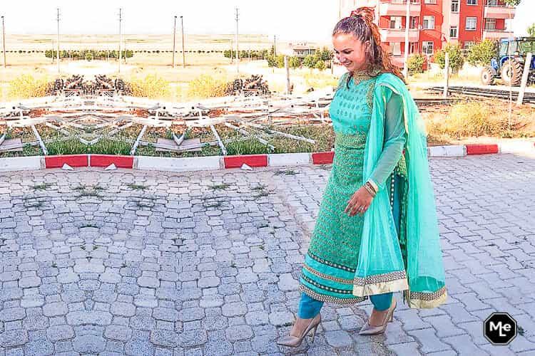 Henna, Mehndi, Kina Gecesi outfit- Salwar Kameez
