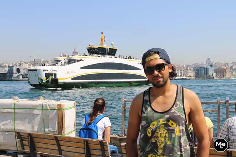 Bezienswaardigheden in Istanbul- boottocht bosporus