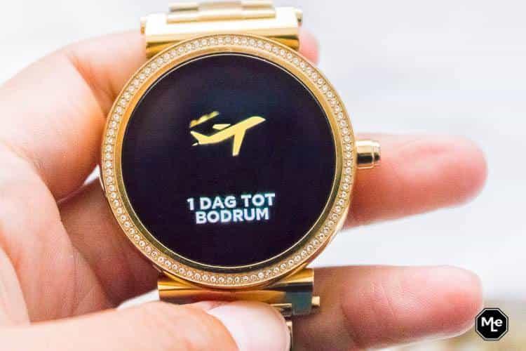 Michael Kors Acces Sofie smartwatch - herinneringen