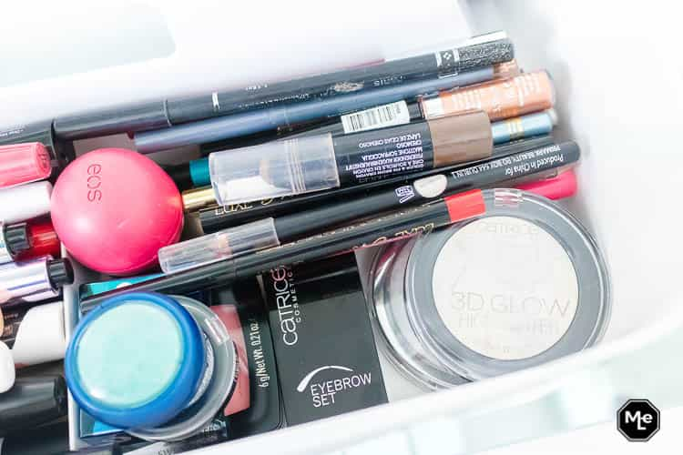 Mijn Make-up stash opbergen in de Mybox