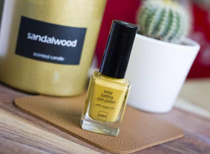 Hema Longlasting Nailpolish Golden Yellow