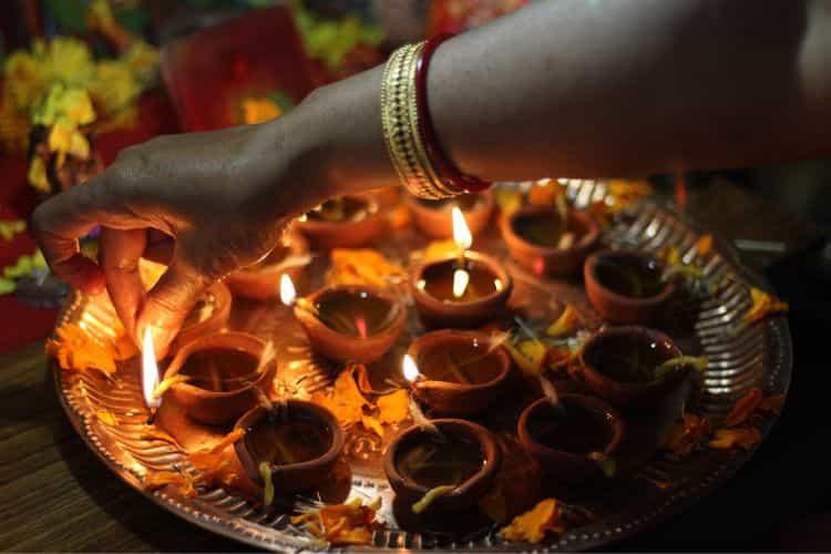 Diwali lichtfeest