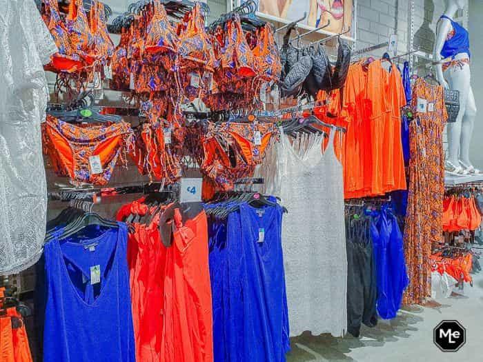 primark utrecht oranje / blauwe badkleding