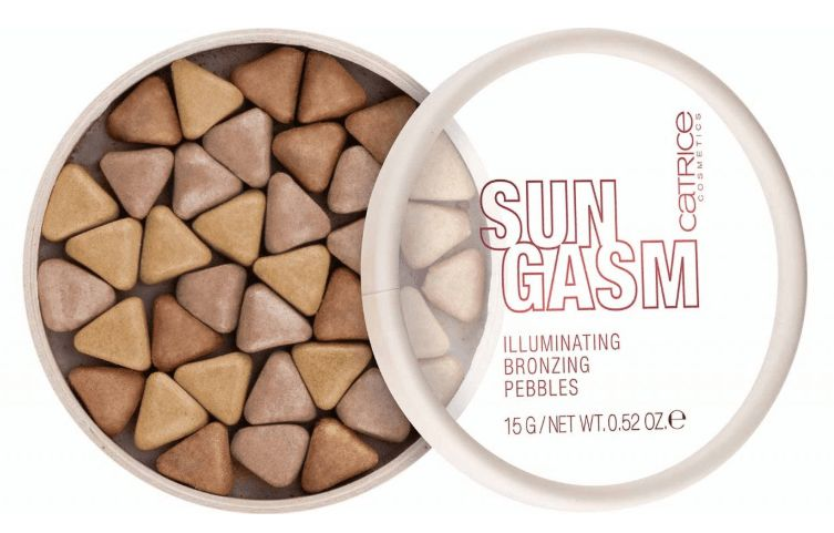 Catrice Sungasm - Illuminating Brozing Pebbles