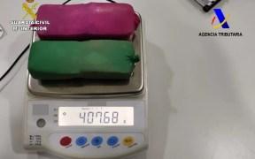 Detenido un joven de 18 años en el puerto con 407 gramos de hachís