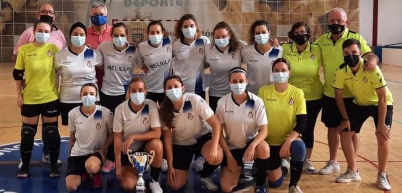 Peña Santillana, campeón de la Liga Femenina de fútbol sala de Melilla