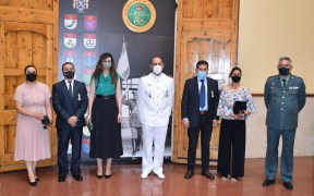 La Guardia Civil de Melilla entrega sus condecoraciones a Rafael Serrano, Mohamed Mohamed y Omar Haouari