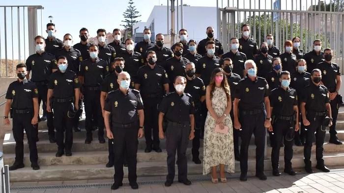Melilla contará durante once meses con 35 policías en formación de la XXXVI Promoción de la Escala Básica