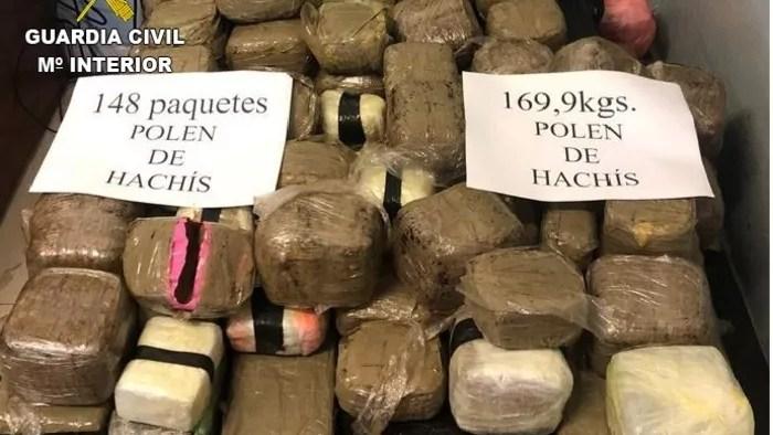 Drogas incautadas en Melilla