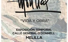 Cartel de 'Vida y obra' de Morillas