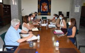 Reunión de Moh con los centros educativos