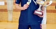 Rubén López, un central de gran proyección para el Club Voleibol Melilla