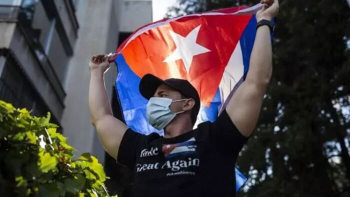 Cubanos piden libertad