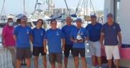 El Equipo de Regata 'Ciudad de Melilla Sport Capital' ha ganado este domingo la quinta edición de la Regata Costa Tropical.