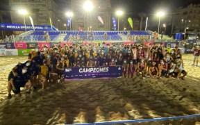 El CBMPCiudad de Málaga fue el gran triunfador de la competición, con cuatro de los ocho títulos posibles.