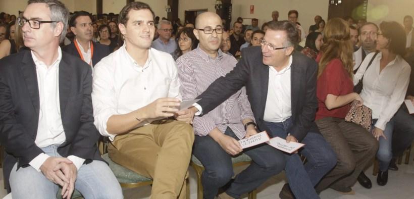 Eduardo de Castro y Albert Rivera