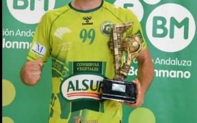 Hugo Martínez es el cuarto fichaje del Melilla Sport Capital Balonmano