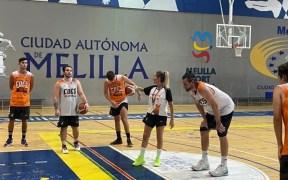 Sesión de entrenamiento del MSC Enrique Soler