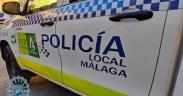 La Policía Local de Málaga detuvo a un individuo natural de Melilla y vecino de Málaga de 44 años