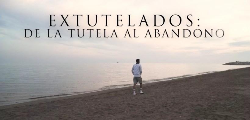 """Cartel del documental """"Extutelados: de la tutela al abandono"""""""