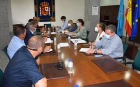 Reunión de la CEME con la Delegada