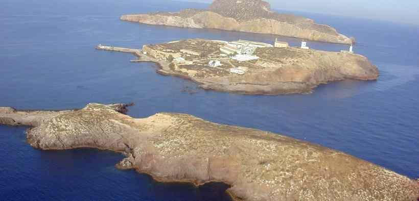 Imagen de las islas chafarinas