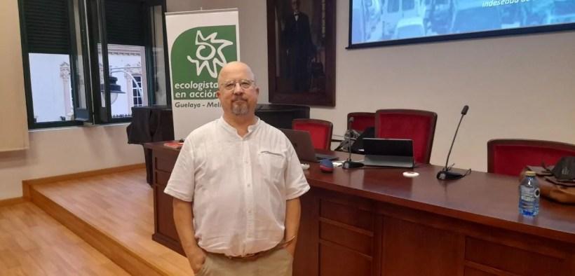José Luis Cañavate, redactor del Plan de Movilidad Urbana Sostenible (PMUS)