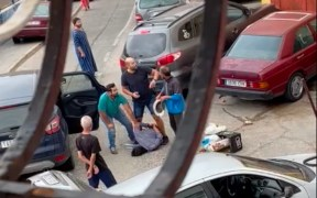 Imagen de una intervención policial en la Cañada