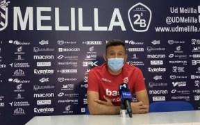 Manolo Herrero, entrenador de la U.D. Melilla