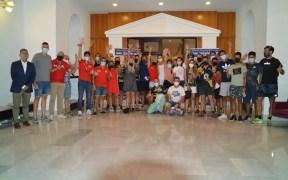 Foto de familia de los participantes en las distintas actividades