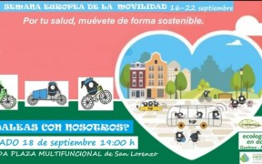 Cartel pedalada Melilla