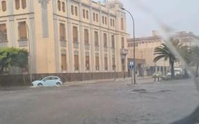Inundación en Melilla