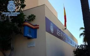 Edificio de la Jefatura Superior de la Policía
