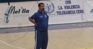 Salim Abdelkader, entrenador del Melilla Sport Capital Voleibol