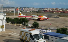 Avión Air Nostrum Melilla
