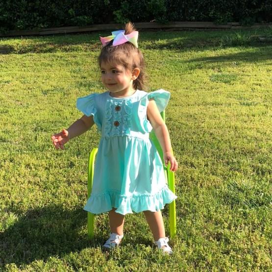 Melina & Me - Paradise Ruffle Dress