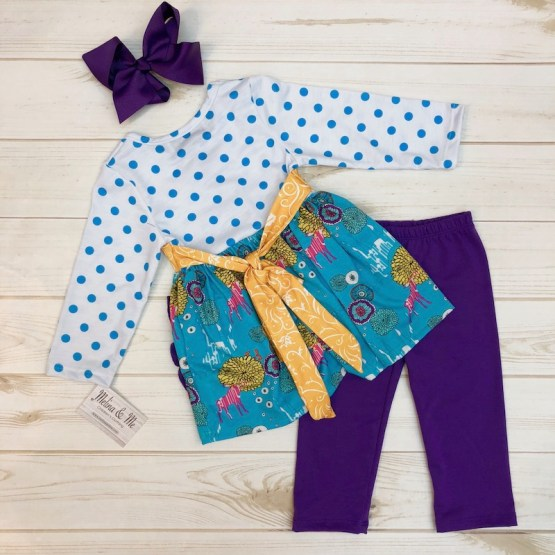 Melina & Me - Fairytale Forest Outfit (Back)