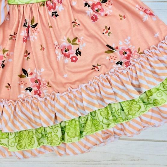 Melina & Me - Sweet Peach Dress (Front 2)