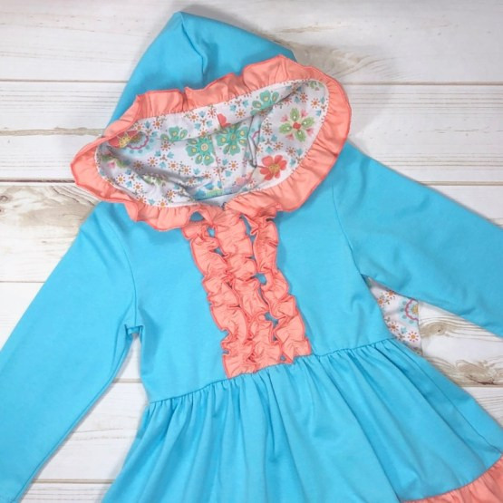 Melina & Me - Flower Child Outfit (Hoodie)