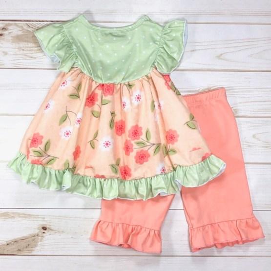 Melina & Me - Sweet Peach Outfit (Back)