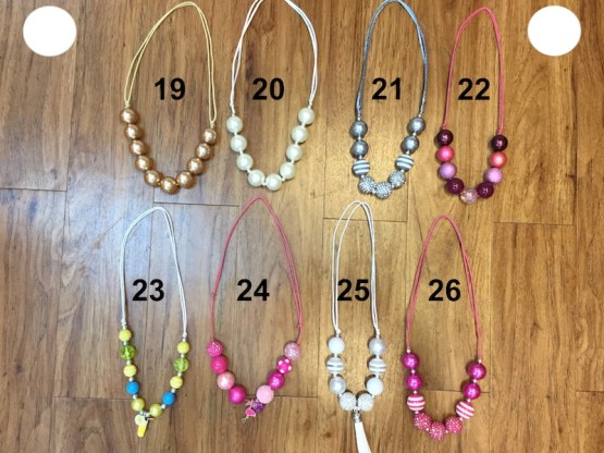 Melina & Me - Bubble Necklaces ($7 -2)