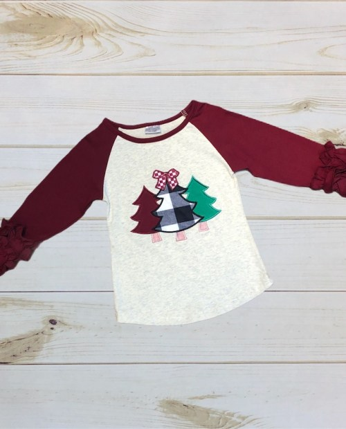 Melina & Me - Oh Christmas Tree Shirt