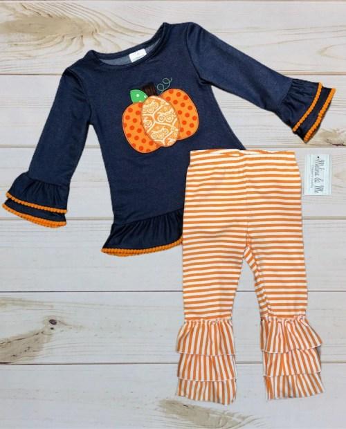 Melina & Me - Pretty Little Pumpkin Outfit